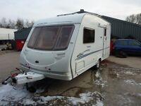 Sterling Eccles Topaz Touring Caravan & FREE Starter Pack