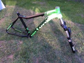 Bike frame and forks