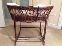 Moses basket - Clair de Lune wicker basket