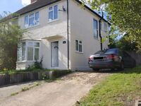 3 BEDROOM SEMI HOUSE CLOSE TO M40 & WYCOMBE TOWN. Close to good schools. Quiet Location. Parking