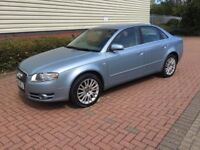 2006 AUDI A4 2.0 TDI 140 SE - MANUAL - 4 DOOR SALOON - DIESEL - FULL S/H