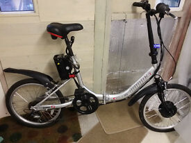 City Hopper 2 electric folding bike in VGC