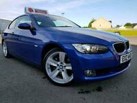 (Montego Blue) May 2008 BMW 320d Coupe 177bhp! Full Leather! Xenons! Low Miles! Warranty & Finance