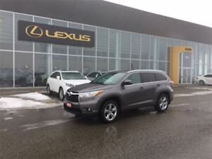 2015 Toyota Highlander Limited**LOW KMS**ONE OWNER**$289 BIWEEKL