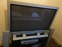 "47"" TV with speakers"