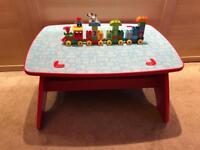 Mega Bloks table and Lego duplo train