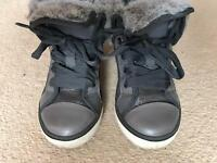 Girls Clarks ankle boots size 10F