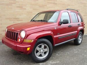 2007 Jeep Liberty Sport 4X4. Loaded! Leather! P.Sunroof!