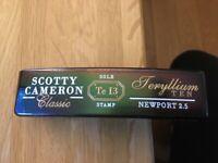 Scotty Cameron Rare Teryllium Ten Anniversary Newport 2.5 TeI3 LTD Putter