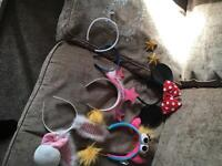 Assorted dress up / fancy dress headbands