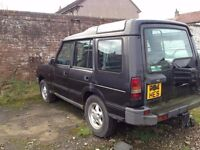 LANDROVER 300TDI 1996 PLATE FOR SPARES, GOOD RUNNING GEAR