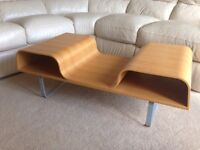 Retro coffee table with storage from Ikea