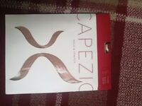 Capezio Hold and Stretch Dance Footed Tights.