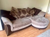 Brown 6 Seater Corner Sofa ***Very Comfy***Perfect Condition***