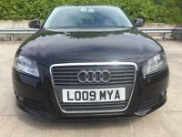 2009 AUDI A3 1.9 TDI SPORT, FSH /£30 Year Road Tax