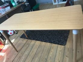 Ikea table desk - mid century look - great condition