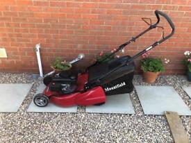 """Mountfield HP180R Petrol Push Rear Roller Lawn Mower (18"""" cut)"""