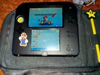 Nintendo 2DS preloaded with mario kart 7 with games