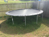 12ft Trampoline for sale - Enclosure still in box never used (NEW)