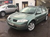 Free Delivery Available 30/05/2006 Renault Megane Estate 1.4l Petrol 4 New Tyres Free Delivery