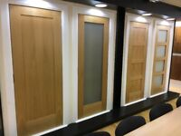 High quality pre finished oak shaker doors for sale