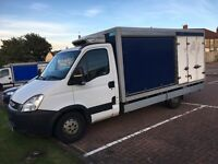 2 pieces iveco daily 2011 reg with mot refrigerators