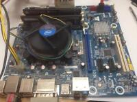 Motherboard bundle i5 2500k, 4gb memory