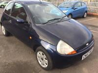 07 Ford Ka 1.3 litre petrol 3 door hatchback mile 59828 mot 29/4/18