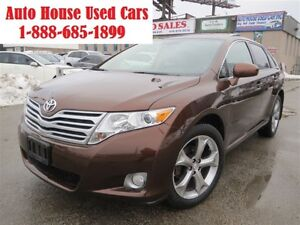2011 Toyota Venza LIMITED,V6,AWD,back-up cam,panoramic roof,leat