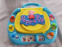 Peppa pigs toys - lego laptop car