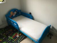 Toddler's Thomas The Tank Engine Bed