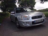 Subaru Impreza 2003 GX Sport Wagon 4x4 high low Ratio