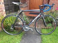 Btwin FC700 full carbon 20 speed Road bike,60cm 8.4kg frame,tiagra gears,700c wheels