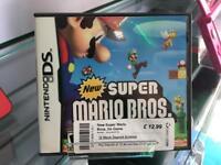 Nintendo DS New Super Mario Bros game