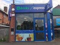 Off Licence for Sales - Droitwich Spa
