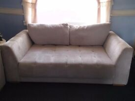 2 x 2 seater couches/settees/sofabeds.