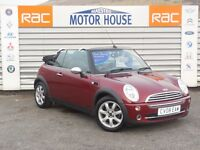 MINI Convertible COOPER (MUST BE VIEWED) FREE MOT'S AS LONG AS YOU OWN THE CAR!!! (red) 2008