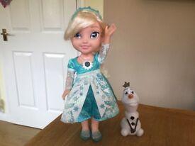 Frozen Snow Glow Elsa Doll.