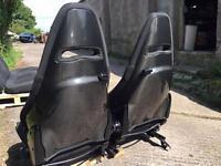 Alfa Romeo Mito Quadrfoglio QV Sabelt seats interior carbon (fiat abarth 595) rare!Recaro cloverleaf