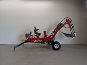 HOC TE301H - HONDA TOWABLE EXCAVATOR TRENCHER BACKHOE + 1 YEAR WARRANTY + FREE SHIPPING