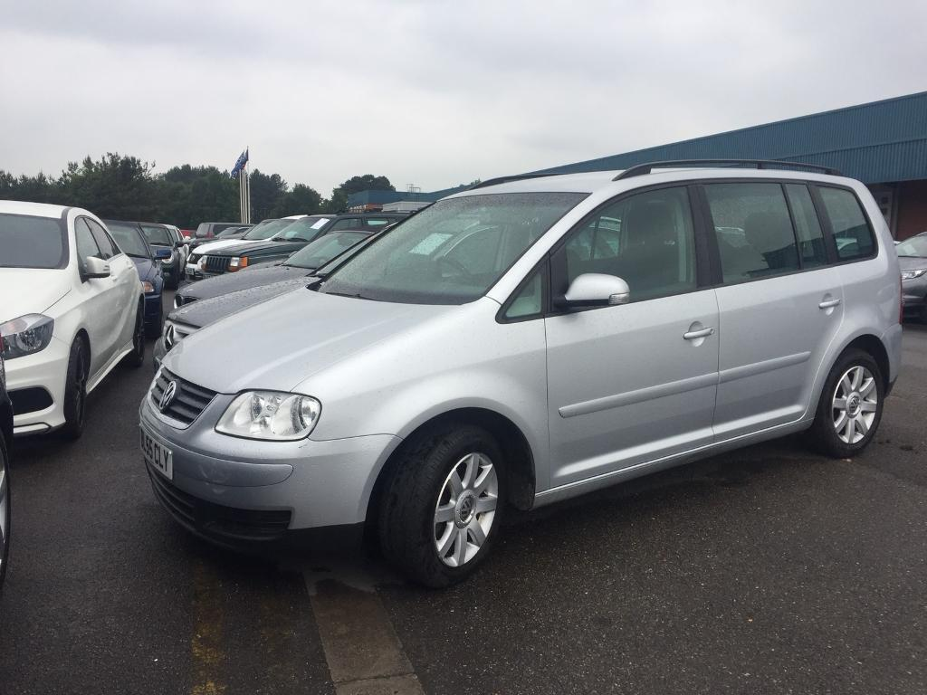 VW TOURAN 1.9 TDI 6 SPEED MANUAL 100 MET SILVER SERVICE HISTORY PX WELCOME!!
