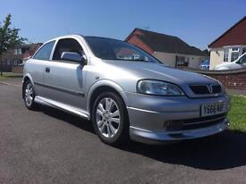 Vauxhall Astra 2.2 sri 1 years mot 90k miles