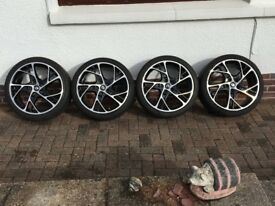RS250 19 inch Steev wheels