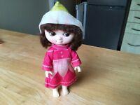 Vintage Victoria plum Doll