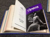 Vintage Opera magazine collection