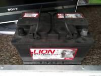 Lion battery 70Ah taken from Transit Van, Good Working Order