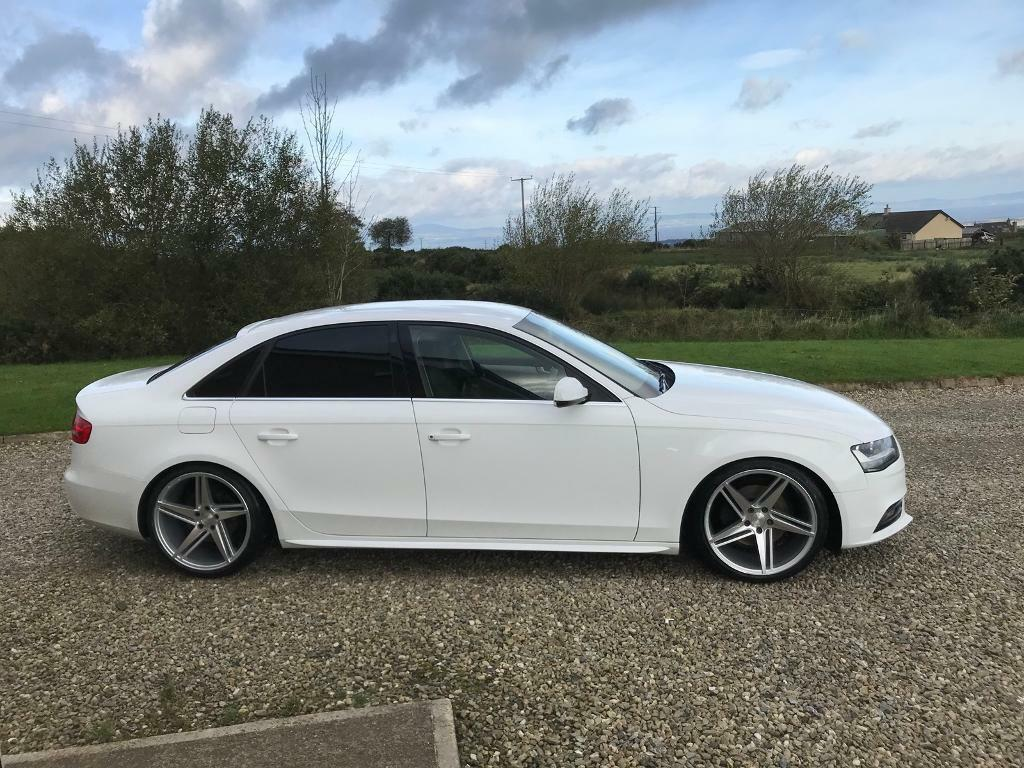 2013 Audi A4 White In Limavady County Londonderry Gumtree