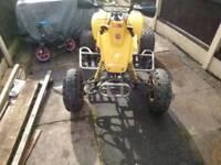Yamaha tri z 250 ytz 250 quad rolling frame project