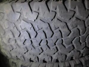BFGOOD RICH A/T KO LT285/75/R16 10 PLY TIRES@ 85% TREAD 285/75/16