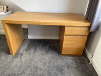 IKEA desk with draw unit